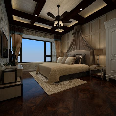 luxury white bedroom luxury white bedroom 3d model max cgtrader com