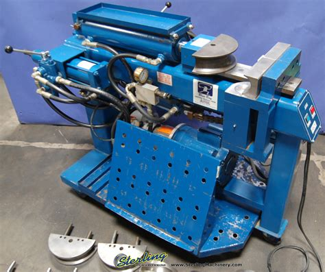 amh hydraulic tube bender sterling machinery