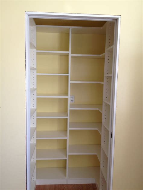 Pantry Closet Designs by Malka In The Pantry Custom Pantry In Sonoma