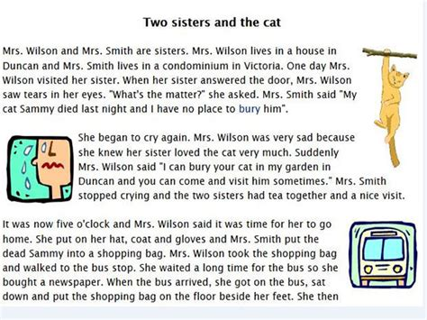 Two Sisters And The Cat English Guide Org