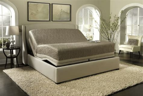 motorised electric bed with memory foam mattress dream