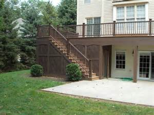 Cheap Patio Options Your Deck Options Options On Deck Railing Lighting