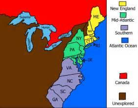 13 colonies sample map