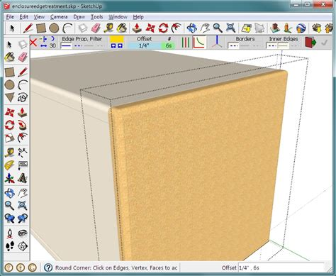 sketchup layout rounded rectangle sketchup basics an introduction to google s sketchup