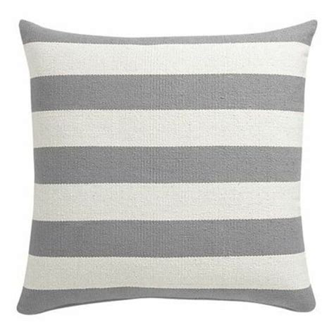Gray And White Pillows by Grey And White Striped Floor Pillow For The Home
