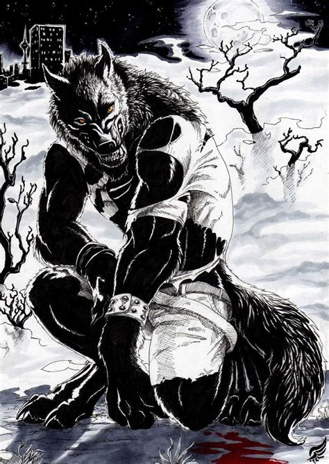 Skyline Werewolf by BlackChaos666 on DeviantArt | Weres ... Awesome Pictures Of Werewolves