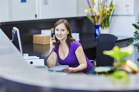 duties and responsibilities of a receptionist dizzyingly