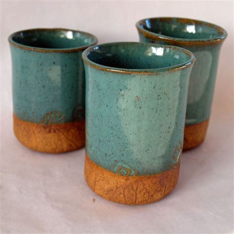 Handmade Cups - pottery cups handmade stoneware