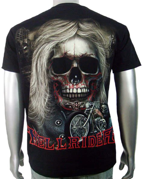 Tshirt Ghost Jerman Bicycle Bdc chopper biker skull pictures to pin on tattooskid
