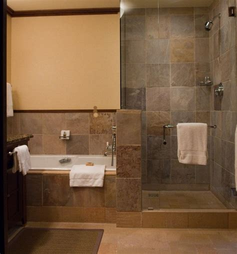 Doorless Shower For Small Bathroom Rustic Walk In Shower Designs Doorless Shower Designs Showers Doorless Shower Bathtubs Ideas