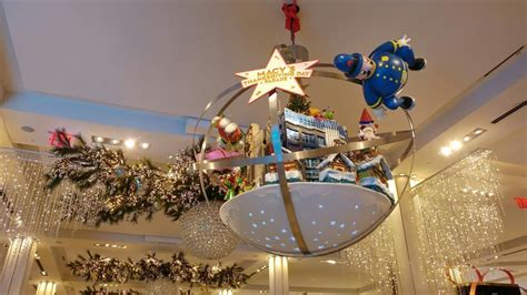 christmas decoration around nyc macy s 2017 thanksgiving parade in store decorations new york usa