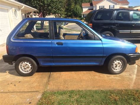 old car owners manuals 1992 ford festiva seat position control ford festiva l plus 2 door 1 3l blue 5 speed no reserve classic ford festiva 1989 for sale
