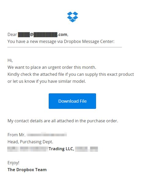 dropbox email fake dropbox email phishing scam alert may 2017