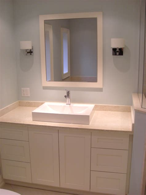 Custom Medicine Cabinets For Bathrooms by Custom Built Vanity And Mirror With Built In Medicine Cabinet
