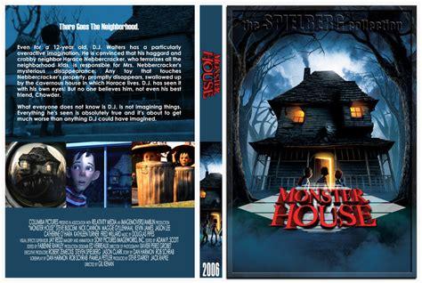 monster house com monster house movie dvd custom covers 2006 monster