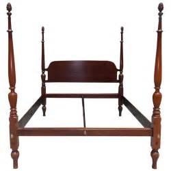 American mahogany king size four poster bed circa 1810 at 1stdibs