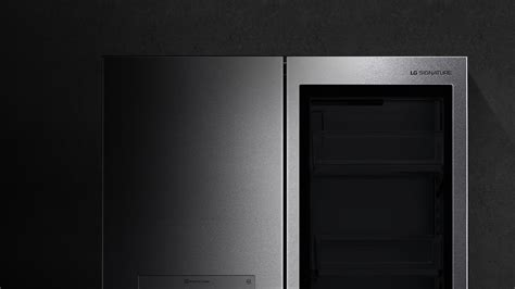 Lg Door In Door Fridge by Lg Lupxs3186n Instaview Door In Door Smart Refrigerator