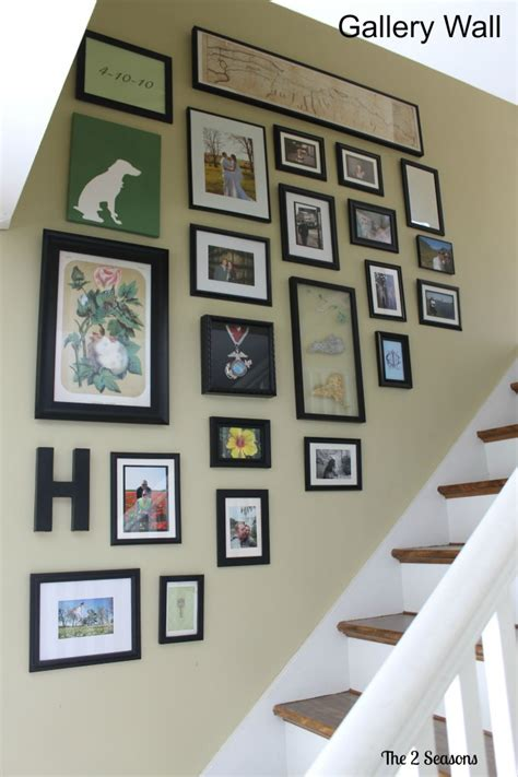 gallery wall how to the 2 seasons the lifestyle