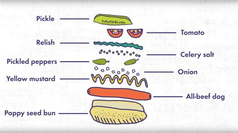 chicago ingredients tries 14 chicago dogs in one day to decide which is best in all of chi town