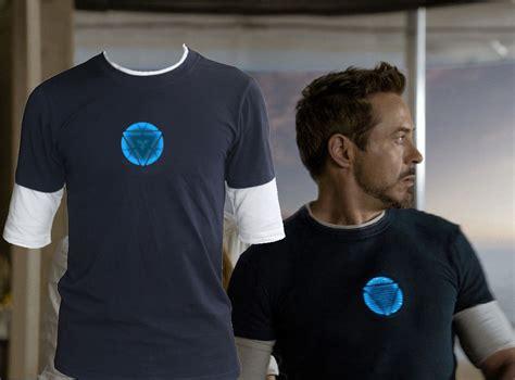 Tony Stark Tshirt tony stark arc reactor shirt www pixshark images