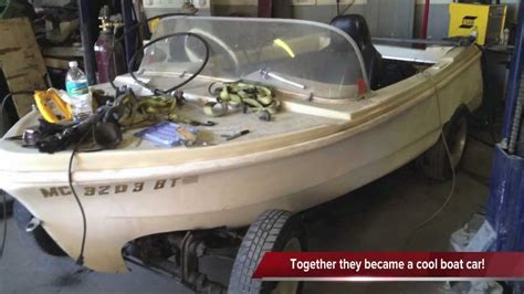 car with boat quot volkswagen boat car in the making quot youtube