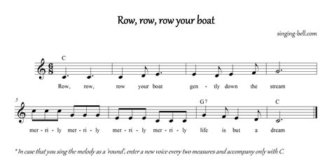 row your boat piano numbers free nursery rhymes gt row row row your boat free mp3