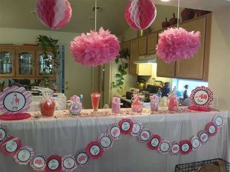 baby shower buffet pink and white candy buffet sweet safari baby shower