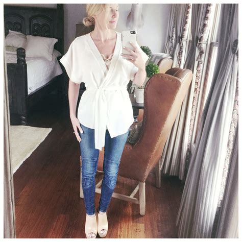 Obi Band Wrap Blouse Bhn Wedges Superfit To L Besar what i wore to the reward style conference 2016 busbeestyle tv