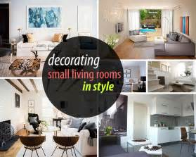 Ideas To Decorate A Small Living Room by How To Decorate A Small Living Room