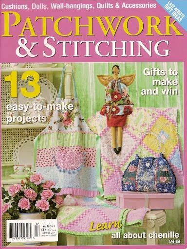 Patchwork And Stitching Magazine - 3367 best books magazines images on