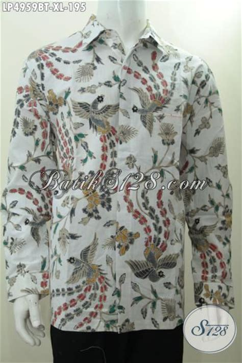 Kemeja Batik Lengan Panjang Motif Songket Prada Halus Ready Seragam kemeja batik modis motif terkini yang trendy banget membuat lelaki terlihat menawan busana