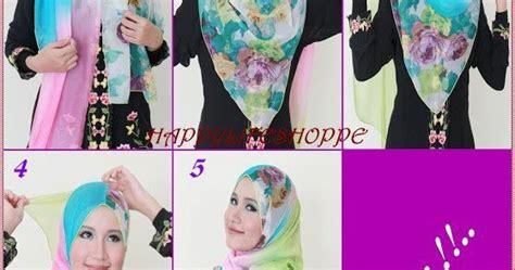 tutorial hijab syari kartun fashion 5 tutorial hijab cantik mudah dan syari terbaru