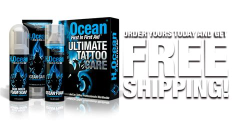 tattoo aftercare kit wholesale ultimate tattoo care kit h2ocean