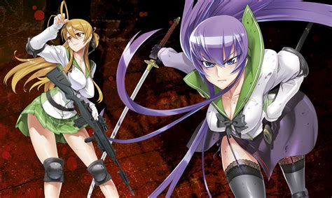 anime high school of the dead highschool of the dead author passes away due to disease