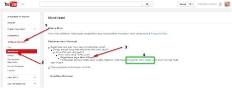 membuat akun adsense di youtube givemore125 cara mendaftar akun google adsense lewat