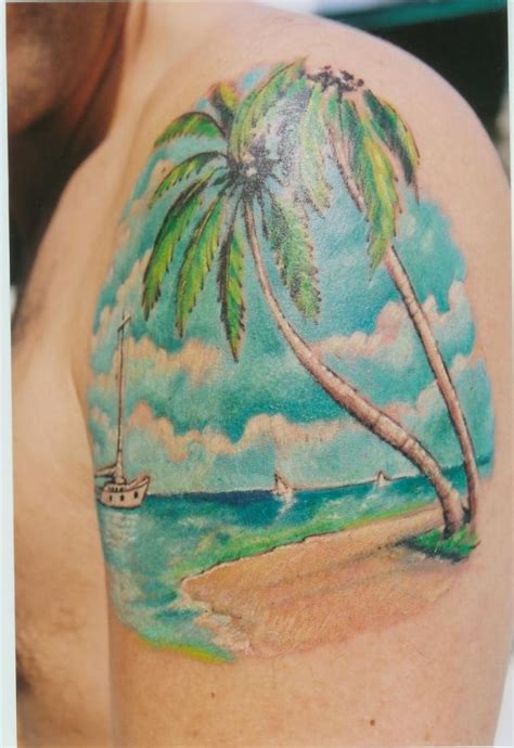 tropical beach tattoo designs tattoos tattoos