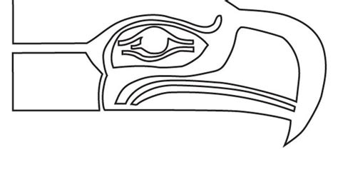 Seattle Seahawk Logo Coloring Pages Seahawks Color Pages