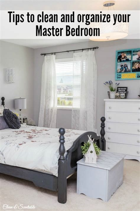 how to organize your master bedroom clean and scentsible