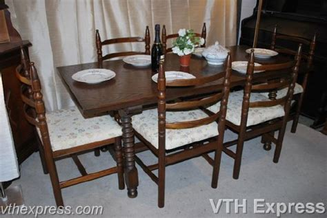 Secondhand Dining Chairs Dining Table Second Dining Table Chairs