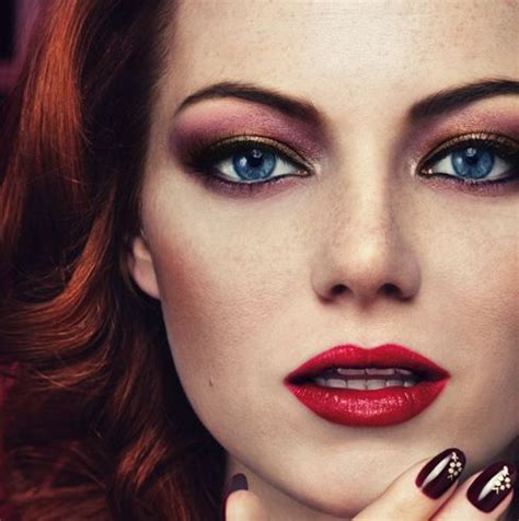 Emma Stone Eye Makeup | revlon eyeshadow emma stone eye makeup beauty hair