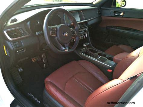 Kia Optima Leather Interior Wow To Thrilling Pet Friendly 2016 Kia Optima Sx Turbo