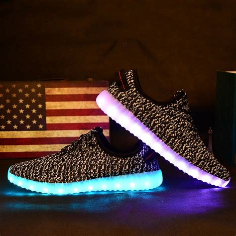 md light up shoes fashion yeezy boost yeezy s