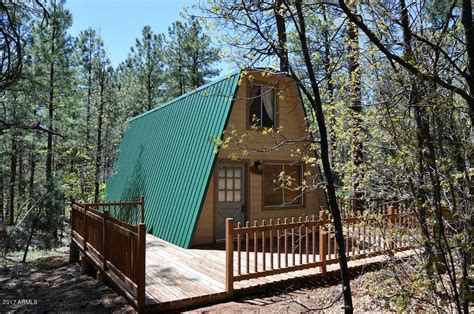 Arizona Cabin For Sale tiny a frame cabin on 44 acres for sale in arizona