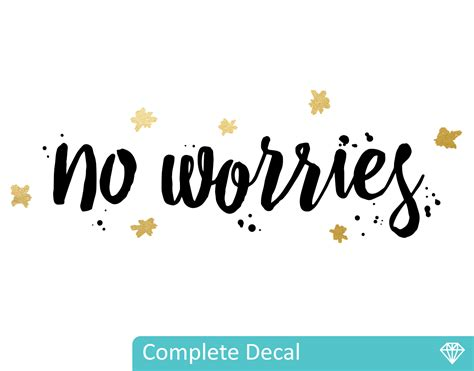 Full Wall Mural Decals no worries your decal shop nz designer wall art decals