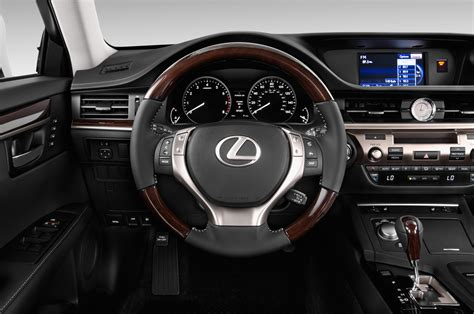 2014 Lexus ES350 Steering Wheel Interior Photo