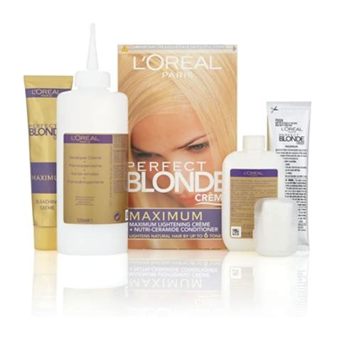 Loreal Bleaching l or 233 al cr 232 me maximum lightening