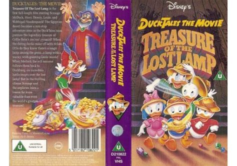 Ducktales The Treasure Of The Lost L by Ducktales The Treasure Of The Lost L 1991 On Walt Disney Home United Kingdom