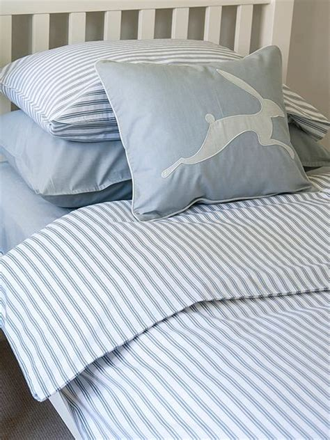 blue ticking comforter harriet hare ticking stripe duvet cover blue house of fraser