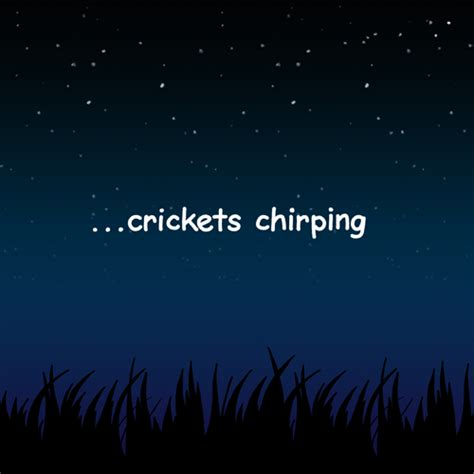 Crickets Chirping Meme - crickets chirping gifs find share on giphy