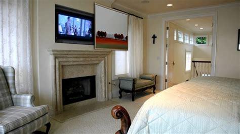 where to put tv in bedroom hidden tv in master bedroom traditional bedroom san